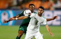 Mahrez breaks Nigerian hearts