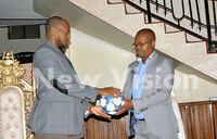 Toro king hosts FUFA president Magogo