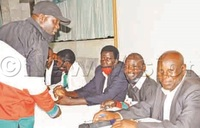 Six parties declare support for Museveni