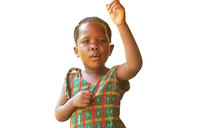 Osege, the three-year-old singer