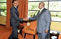 Museveni, Kagame meet over security