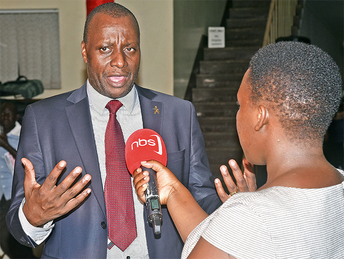 he nfectious iseases nstitute executive director r ndrew ambugu during an interview