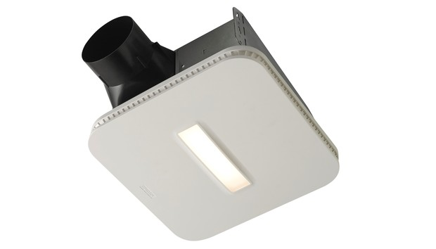 Broan's upcoming SurfaceShield bathroom fan kills germs with bacteria-zapping LEDs
