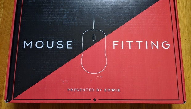 The Zowie Mouse Fitting Kit is a try-before-you-buy option for gaming mice