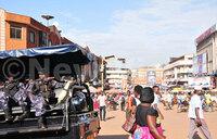 KCCA forces vendors off Kampala Streets