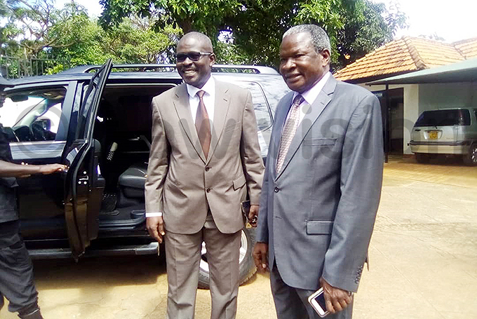 nternal affairs state minister biga ania right after addressing the media on ednesday morning hoto by elson iva