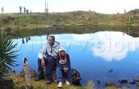 Nine-year-old conquers Mt. Muhabura