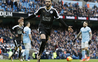 Leicester stun Man City to move six points clear