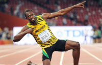 Usain Bolt fears 'belly', but rules out U-turn