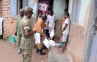 Residents of Kasubi receive food relief