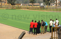 FIFA approves laying of artificial turf at Lugogo