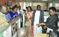New Kyaggwe County chief tours Vision Group