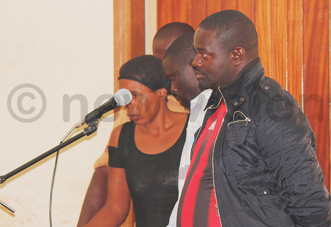 van atongole  and other suspects in the dock during the hearing hoto by ulius uwemba