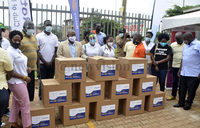 Rotary clubs donate 700 face shields to medical staff