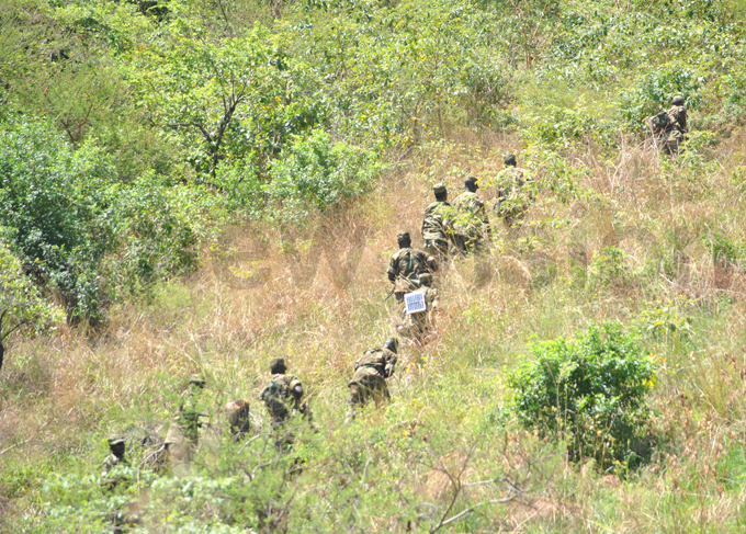 he operation follows weeks of deadly attacks in the region hoto by ogers unday