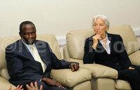 IMF boss Christine Lagarde visits