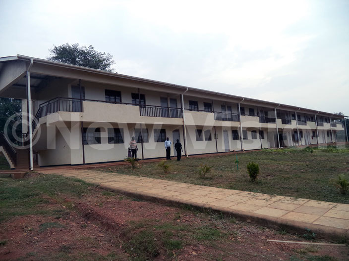 ne of the classroom block