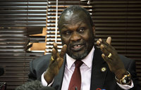 S.Sudan rebel chief refuses to sign peace deal
