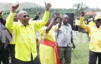 Rugunda combs support for NRM flag-bearers in Rukiga