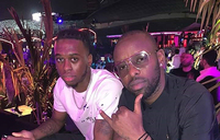 Kenzo hangs out with ManUtd's Bissaka as Rema introduces Hamza
