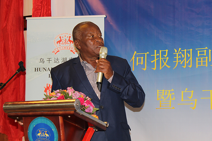 inister uruli ukasa lauded the hinese for their contribution to the economy