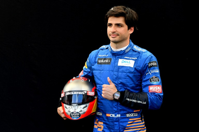 Carlos Sainz tipped to replace Vettel at Ferrari. AFP PHOTO