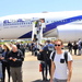 Over 200 Israel tourists jet in for a four-day visit