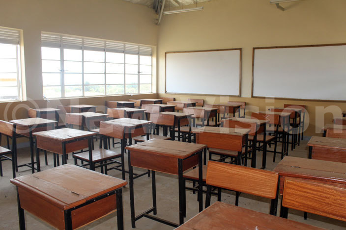 view of the classroom