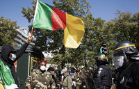 Cameroon police use tear gas to break up protest