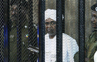 Sudan still in crisis a year after Bashir's ouster