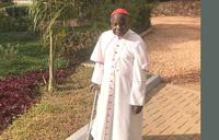 Cardinal Wamala makes a private pilgrimage to Munyonyo