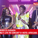 Dr. Hamza Ssebunya surprises Rema with flowers on stage