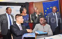 EU funded book anticipated to revolutionarise health care in Uganda