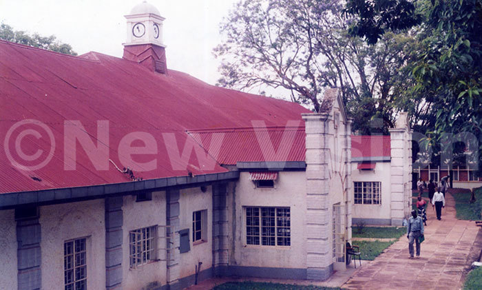 he first administrative block of akerere niversity which was constructed in 1920s