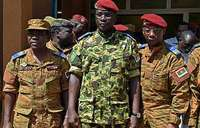 Burkina Faso braces for new protest as military names interim leader