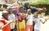 Kampala children get training in swimming