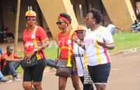 Uganda Cranes' female fans