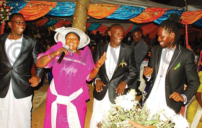 rtistes ilver yagulanyi nnet andujja astor ilson ugembe  obi ine during the function