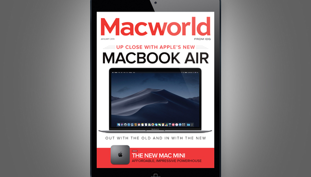 Macworld's January Digital Magazine: Up close with Apple's new MacBook Air