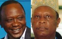 Could Kenya's  president Uhuru be our grandson?