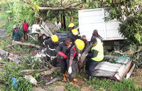 Driver dead, 2 injured in Buikwe accident