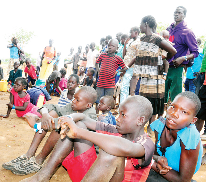 omen and child refugees from outh udan find it hard to get clean safe water he  has set up a 10m fund to cater for water problems among other challenges