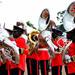 Colour at Museveni inauguration
