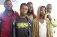 Police arrests five Rwandan smugglers