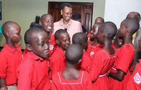 It's a shame for parents not to feed pupils - First Lady