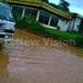 Floods cut off Jinja Road