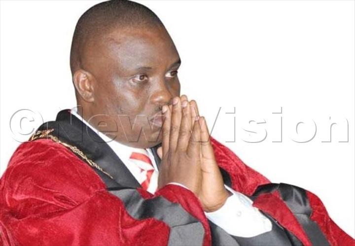 Lukwago during swearing in
