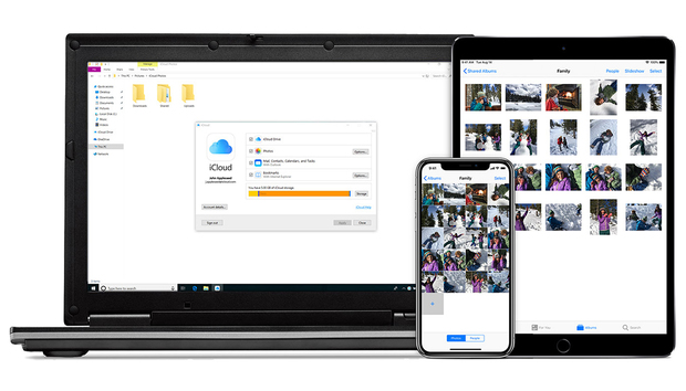 Apple's iCloud app finally comes to the Windows Store, with OneDrive's syncing prowess