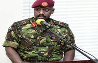 Maj Gen Kainerugaba hands over command
