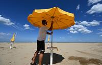 Under the sun, and threat of virus, Italy readies its beaches